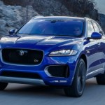 2017-Jaguar-F-Pace-First-Edition-in-motion-front-view